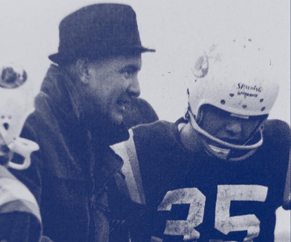 Gordie Gillespie Coaching Football