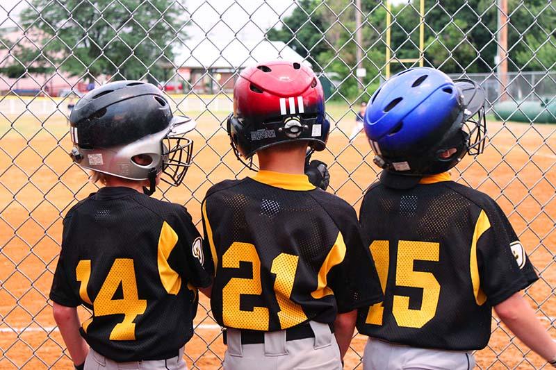 Gordie Gillespie baseball kids